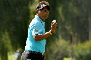 Golf: Thailand's Thongchai upstages Els and Mickelson at Scottish Open
