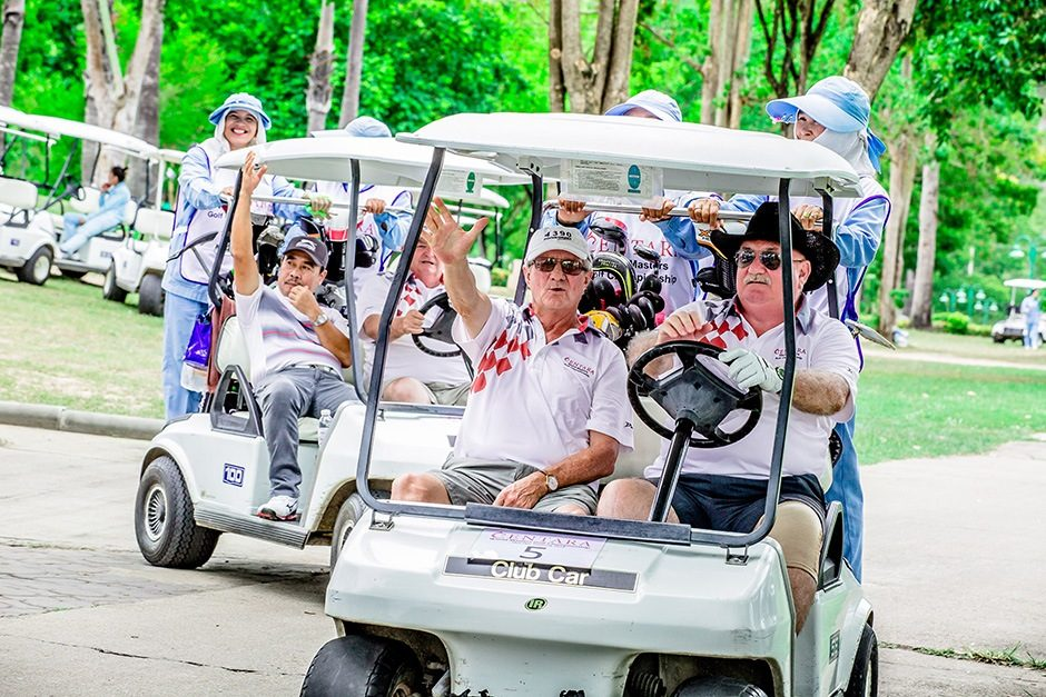 World Golfers Flock To Hua Hin Thailand