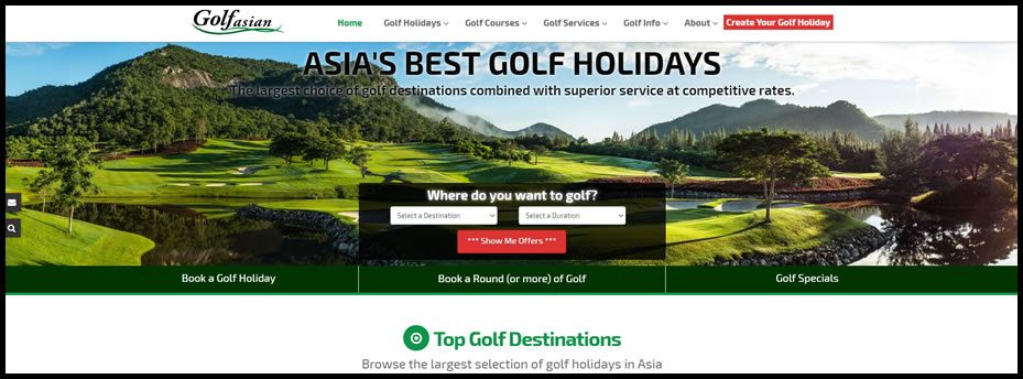 Sneak Peak of Golf's Newest & Best Travel Website