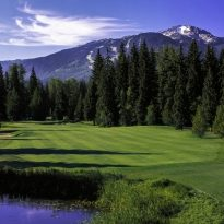 Nicklaus North golf course Whistler, BC